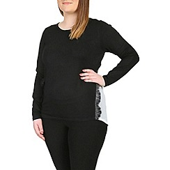Samya - Black knitted pullover