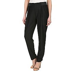 Damned Delux - Black felicity crepe trouser