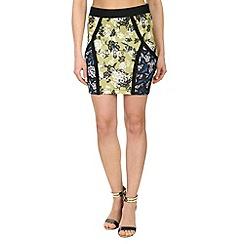 Damned Delux - Multicoloured new york skirt
