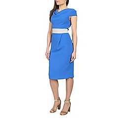 Closet - Blue closet midi pencil dress
