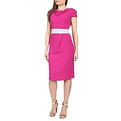Closet - Pink closet midi pencil dress