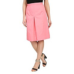 Cutie - Pink pleat front skirt