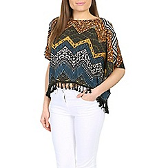 Alice & You - Green oversized tapestry top
