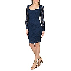 Alice & You - Navy sweetheart lace dress