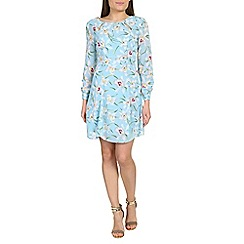 Izabel London - Light blue floral print dress