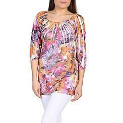 Izabel London - Orange printed  top