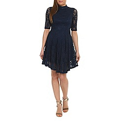 Alice & You - Navy lace skater dress