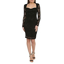 Alice & You - Black sweetheart lace dress