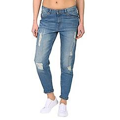 Jailbird - Blue boyfriend cut jeans