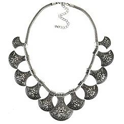 Ziba - Multicoloured giada necklace