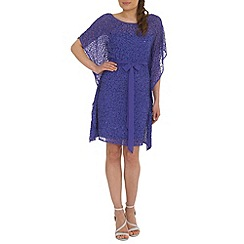 RubyRay - Purple beaded kaftan dress