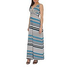 Izabel London - Blue printed maxi dress