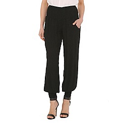 Izabel London - Black wide leg plain pants