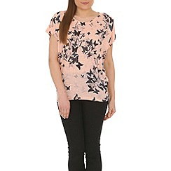 Izabel London - Light pink printed top