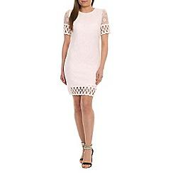 Pussycat London - White crochet shift dress