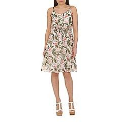 Cutie - Green floral loose fit dress