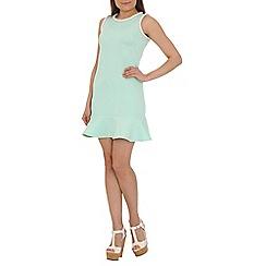 AS by Anna Smith - Light green pastel drop waist dress