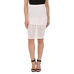 AS by Anna Smith - White lace skirt col white