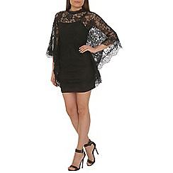 AS by Anna Smith - Black batwing lace dress