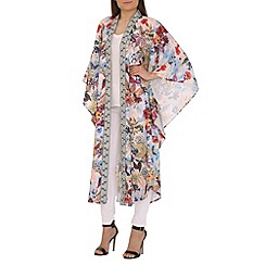 AS by Anna Smith - Multicoloured printed long kimono