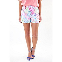 Wolf & Whistle - Multicoloured hawaii floral shorts