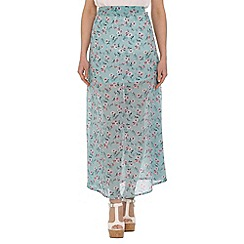 Alice & You - Multicoloured sheer maxi skirt