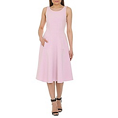 Closet - Pink full circle midi dress
