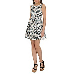 Tenki - Cream daisy print dress