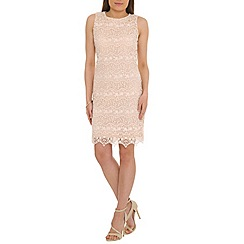 Belle by Badgley Mischka - Ivory vintage lace shift dress