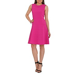 Belle by Badgley Mischka - Pink fit-and-flare dress