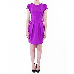 Wolf & Whistle - Purple tailored dress