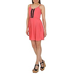 Cutie - Pink spaghetti strapped dress