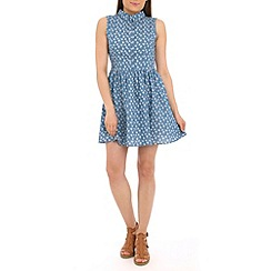 Poppy Lux - Blue rosie dress