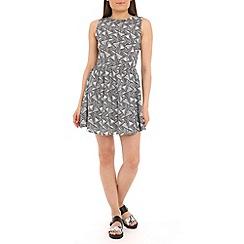 Poppy Lux - Black trixie dress