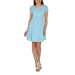 Mandi - Blue lace dress