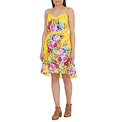 Ayarisa - Multicoloured strappy hi-lo dress