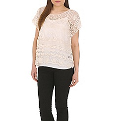 Pussycat London - Cream crochet top