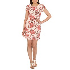 Tenki - White flower print dress