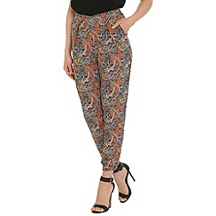 Alice & You - Navy printed trousers