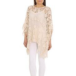 Voulez Vous - Ivory crochet cape