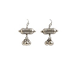 Ziba - Silver Lizella earrings