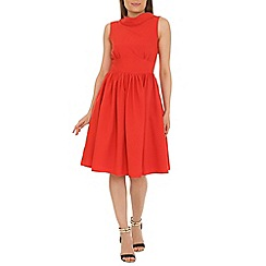 Jolie Moi - Red fit & flare dress