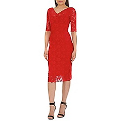 Jolie Moi - Red lace dress