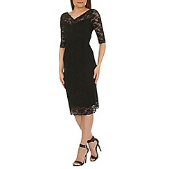 Jolie Moi - Black lace dress