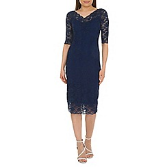 Jolie Moi - Navy lace dress
