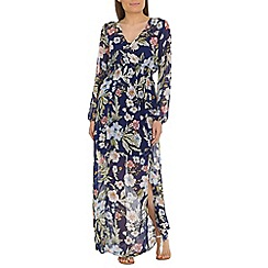 Alice & You - Navy chiffon maxi dress