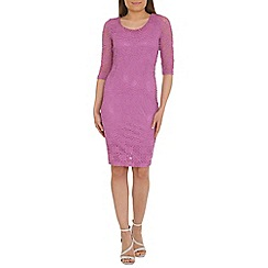Alice & You - Lilac lace layer midi dress