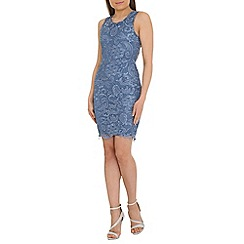 Alice & You - Blue lace bodycon dress