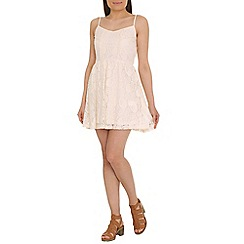 Voulez Vous - Cream lace camisole dress