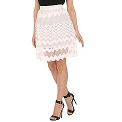 Cutie - White organza skirt